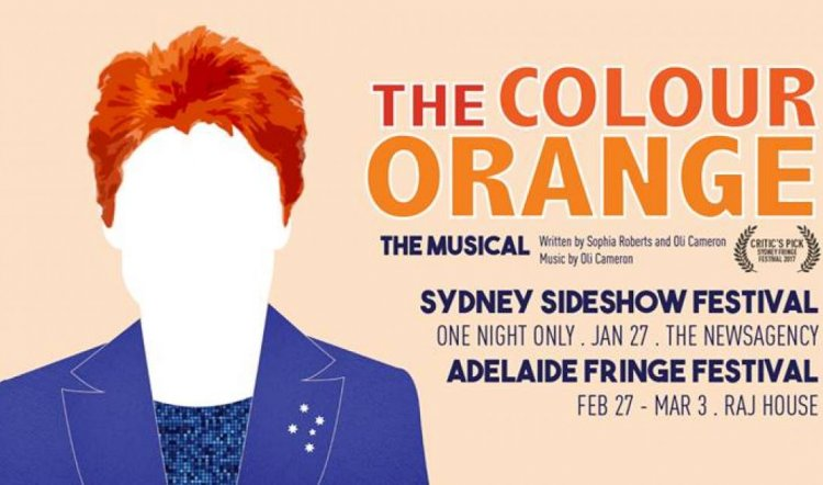 The Colour Orange: The Musical (Sideshow Festival)